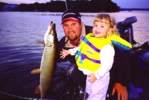 click here to check out Jason Smith and his daughter Sierra with his wifes musky