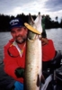 click here to check out former President and club founder Terry Rockteschel's nice LOTW musky on one of his TR Twitchers